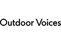 Outdoor Voices logo - A brand we worth with