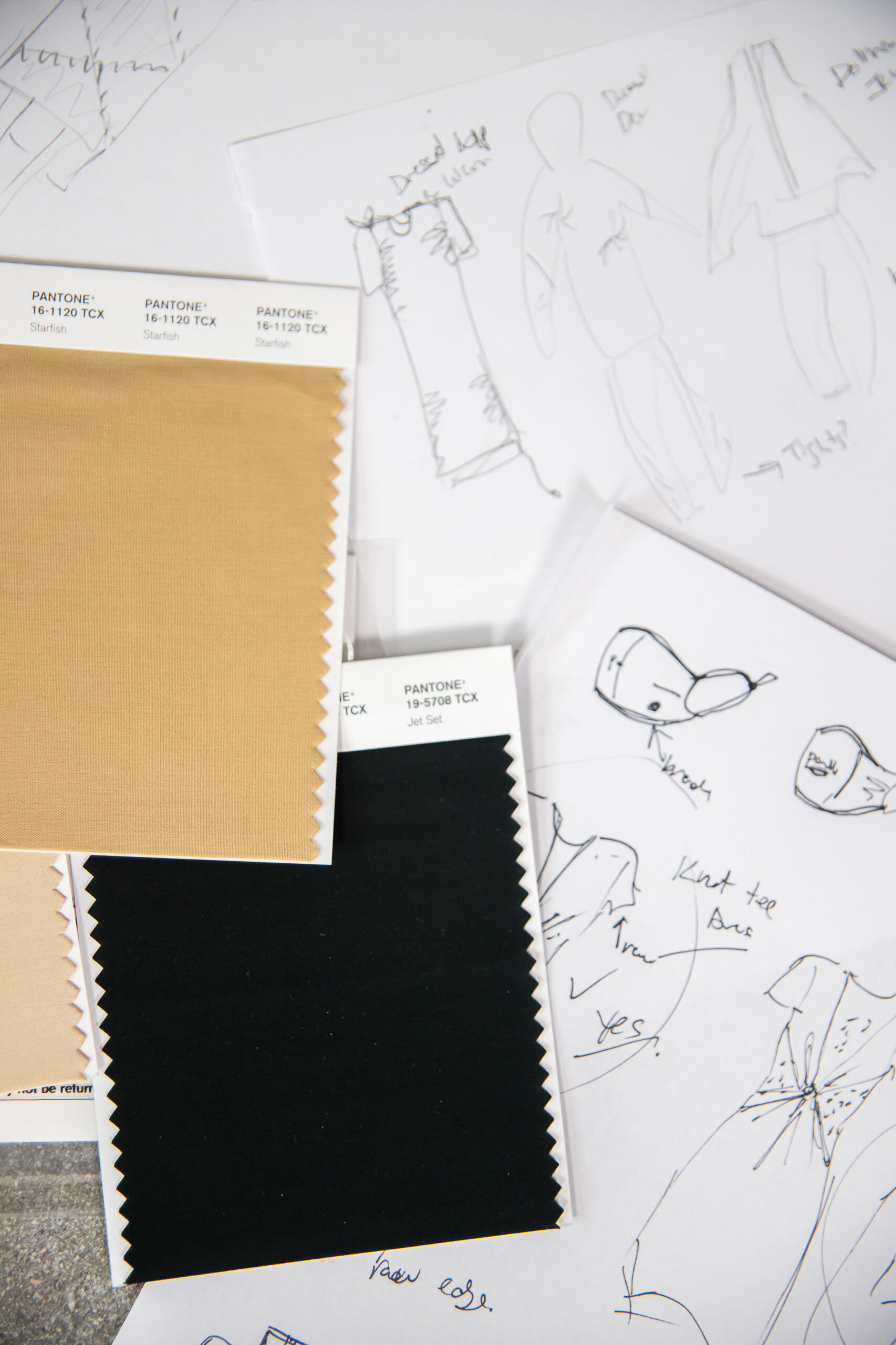 Apparelmark swatches - Freelance fashion design services in North America and Asia.